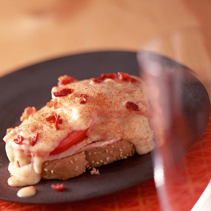"The Classic Hot Brown RecipeIn horse-racing jargon, a ""banker"" is a horse all but guaranteed to win. If there was an office pool for sandwiches, this would be our sure-bet. Serve this all-time Kentucky favorite to guests who want to experience a taste of tradition from Churchill Downs"