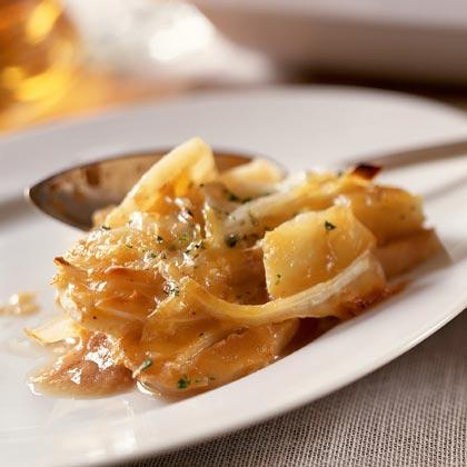 Two-Cheese Scalloped PotatoesRecipe