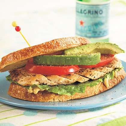 California Chicken Sandwich Recipe Myrecipes