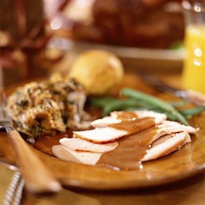 Honey-Apple Turkey with Gravy