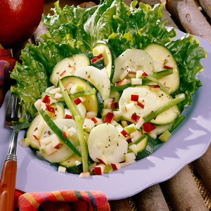 Apple-And-Zucchini Salad Recipe