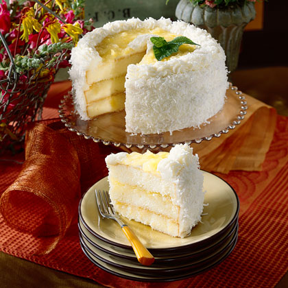 Recipe for lemon and coconut cake