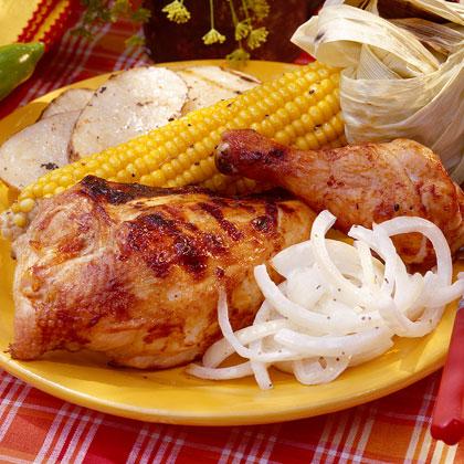 Chili-Barbecued Chicken Recipe