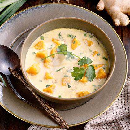 Asian Sweet Potato Chowder