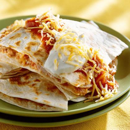 Easy QuesadillasRecipe