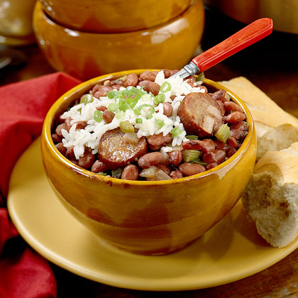 New orleans red beans and rice recipe myrecipes forumfinder Images