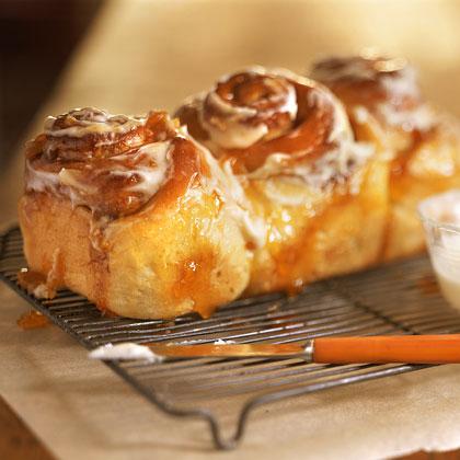 Cinnamon-Bun Bread