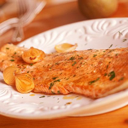 Maple-Glazed Roasted Salmon