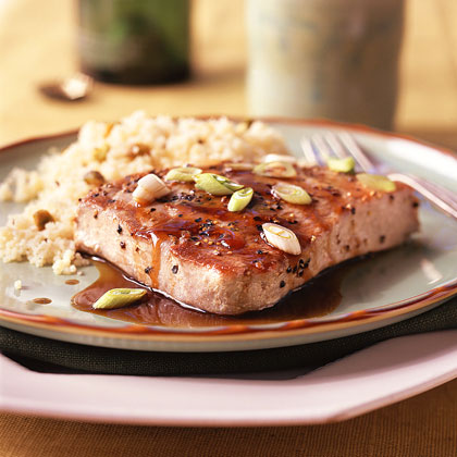 Balsamic-Glazed Tuna