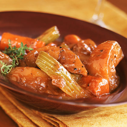 Winter-Vegetable Stew with Sunchokes