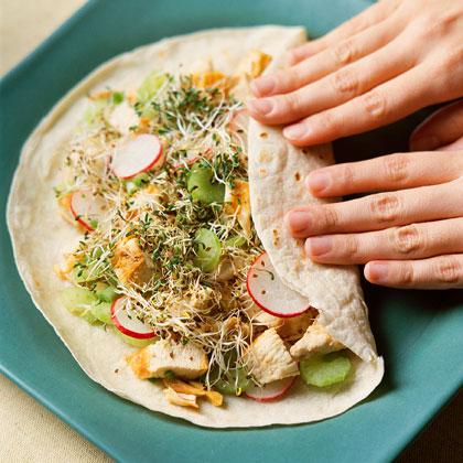 Asian Chicken Salad Sandwiches