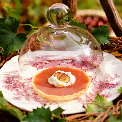 Muscadine Pudding Tarts