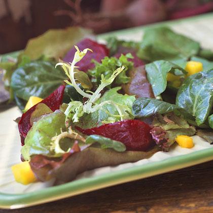 Roasted Beets-and-Mango Salad