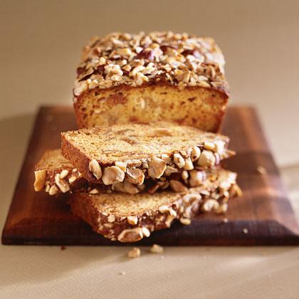 Hazelnut-Fig Quick Bread