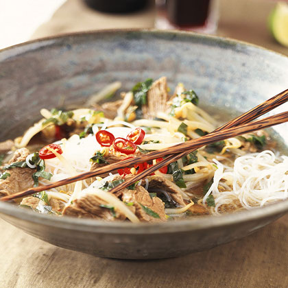 Vietnamese Beef-Noodle Bowl Recipe