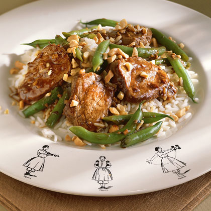 Pork, Cashew, and Green Bean Stir-Fry Recipe