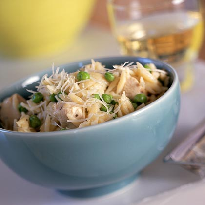 Orzo with Chicken and AsiagoRecipe