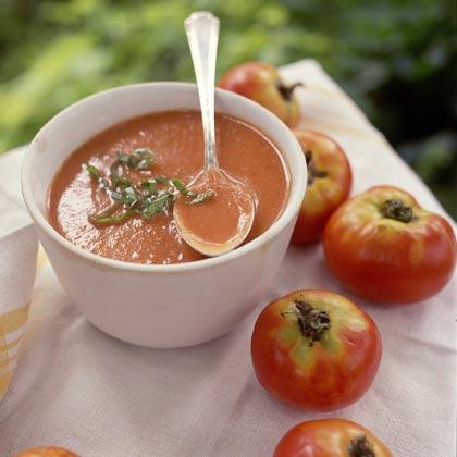 Melanie's Garden-Tomato Soup Recipe