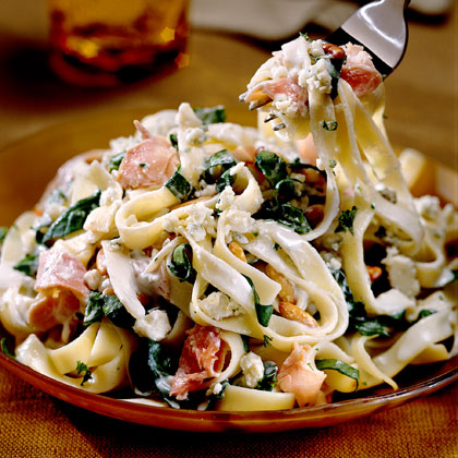 Fettuccine with Blue Cheese SauceRecipe