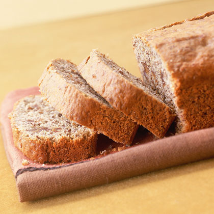 Banana-Date Flaxseed Bread
