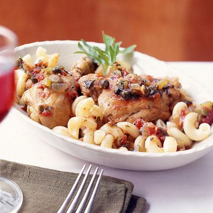 Chicken Cacciatore Sicilian-Style
