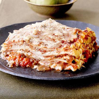 Fresh-Tomato Lasagna