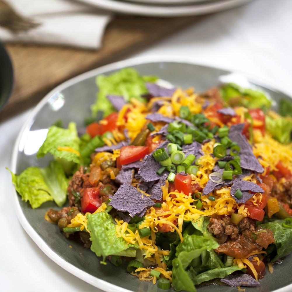 <p>Quick Taco Salad</p>