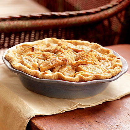 Caramel-Apple Crumb Pie
