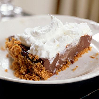 Chocolate-Cream Pie Recipe
