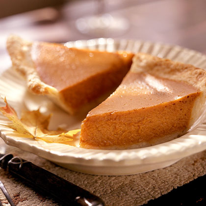 Why does my pumpkin pie crack on top?