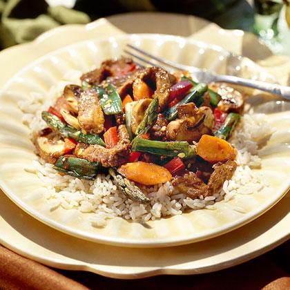 Beef-and-Vegetable Stir-Fry
