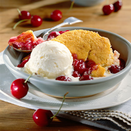 Cherry Cobbler Recipe | MyRecipes