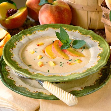Cream Of Peach Soup Recipe