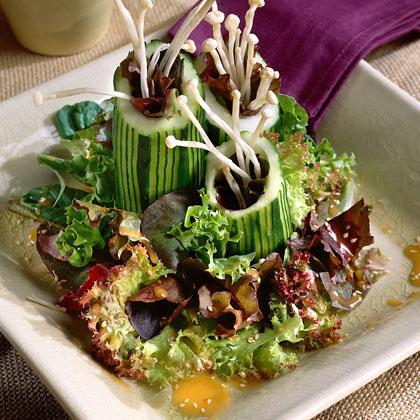 Cucumber Asian GreensRecipe