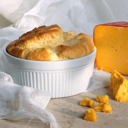 Cheddar Cheese Soufflé