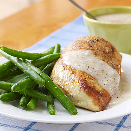 Recipe for chicken gravy with drippings