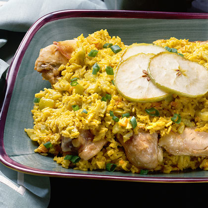 Chicken with Curried Rice