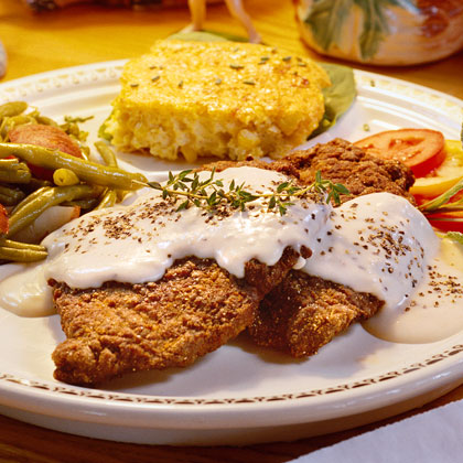 Country-Fried Steak in Paradise Recipe