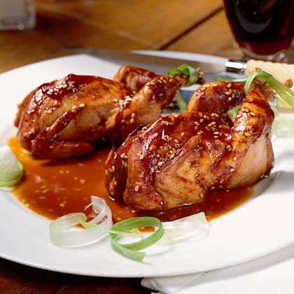 Asian Grilled Quail Recipe