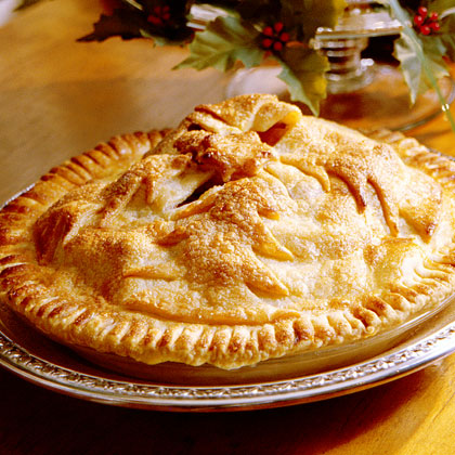 Cranberry-Apple-Raisin Pie