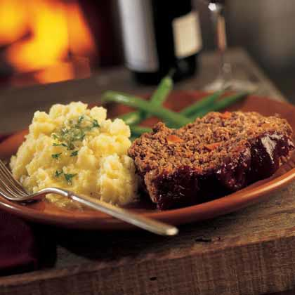 Mashed Potatoes with Parsley-Shallot Butter Recipe