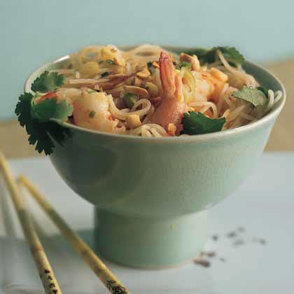 Noodle Salad with Shrimp and Chile Dressing