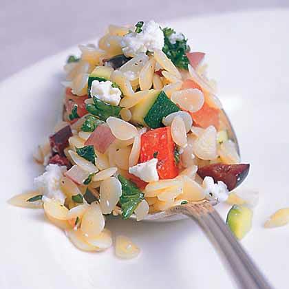 Lemony Orzo Salad Recipe
