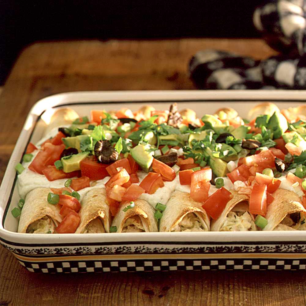 Chicken Enchiladas Recipe Myrecipes
