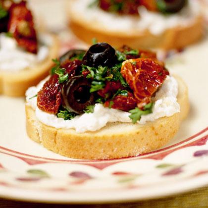 Festive Crostini Recipe