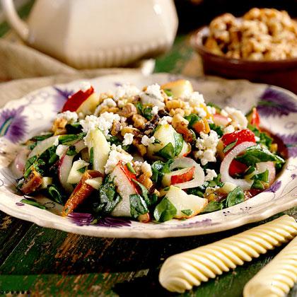 Harvest Salad with Cider Vinaigrette