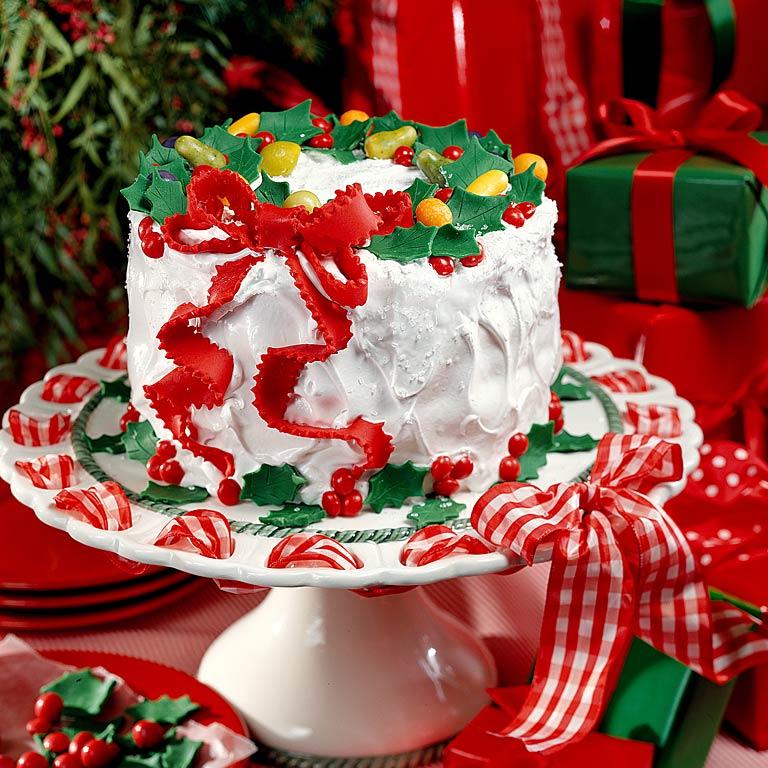 Christmas Cake Ideas Recipes Myrecipes