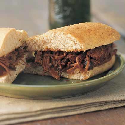 Barbecue Brisket Sandwiches