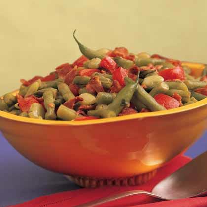 Lemon-Basil Bean Bowl