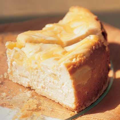 Lemon-Swirled Cheesecake